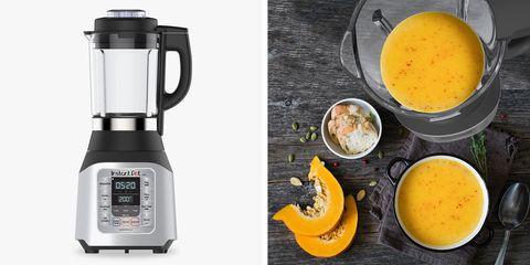 Blender, Mixer, Small appliance, Kitchen appliance, Orange juice, Food, Food processor, Home appliance, Ingredient, Orange,