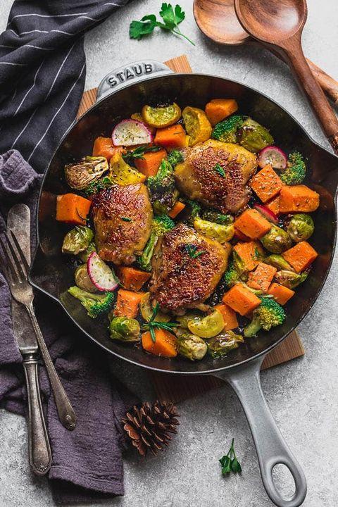 instant pot harvest chicken and vegetables