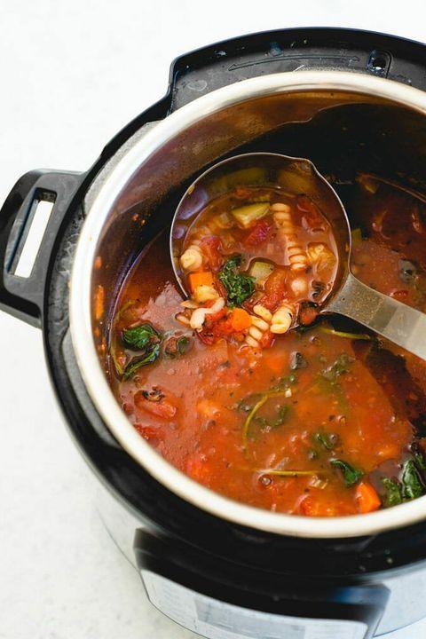 minestrone soup instant pot recipe