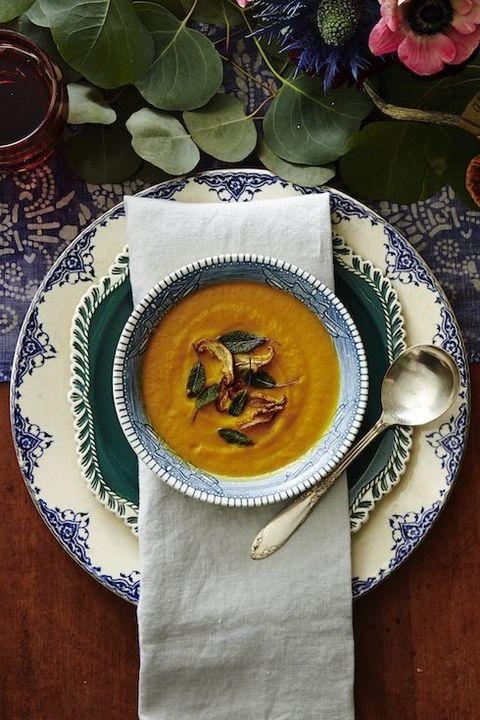 instant pot thanksgiving - butternut squash soup