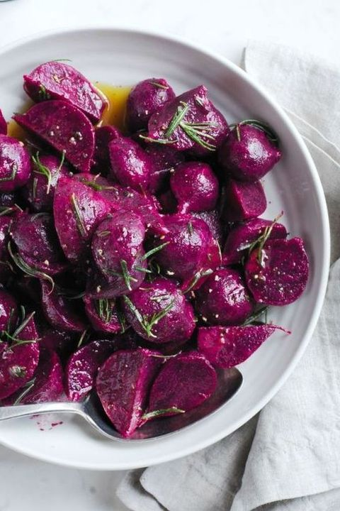 Instant pot thanksgiving - marinated beets