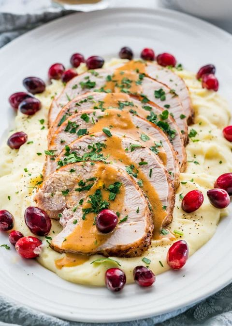 Dish, Food, Cuisine, Ingredient, Pomegranate, Garnish, Chicken meat, Meat, Produce, Recipe,