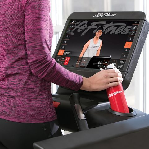 Treadmill, Exercise machine, Product, Exercise equipment, Desk, Elliptical trainer, Technology, Electronic device, Furniture, Gadget,