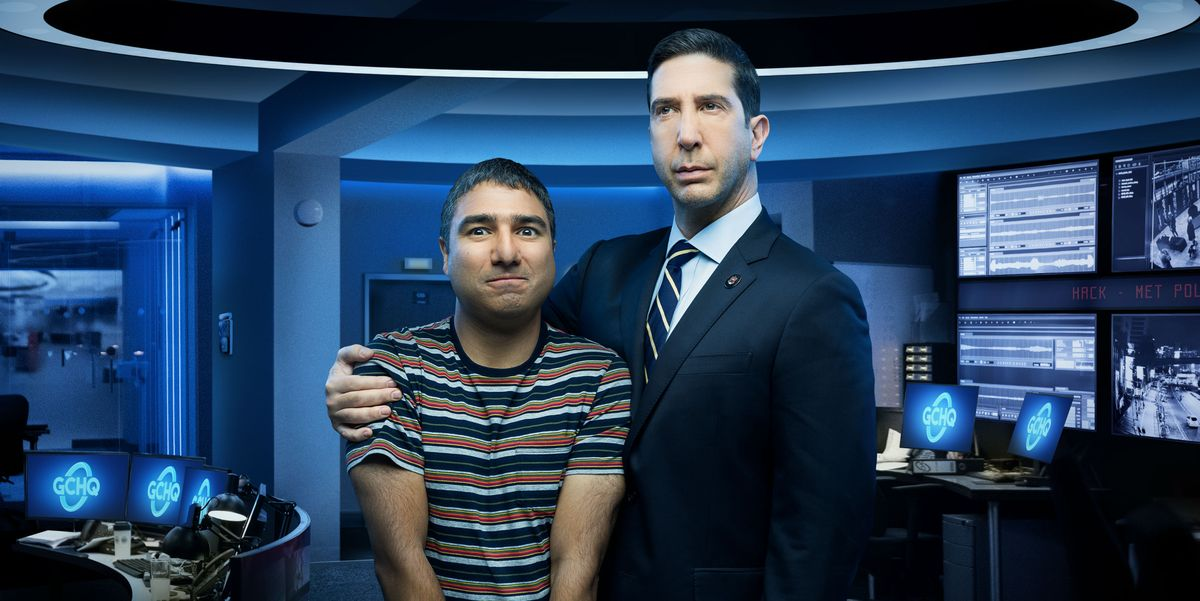 """David Schwimmer teases """"edgier material"""" in his brand new Sky comedy series Intelligence"""