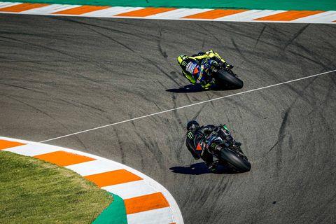 Lewis Hamilton - Valentino Rossi Intercambio
