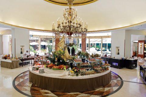Brunch del Hotel InterContinental de Madrid