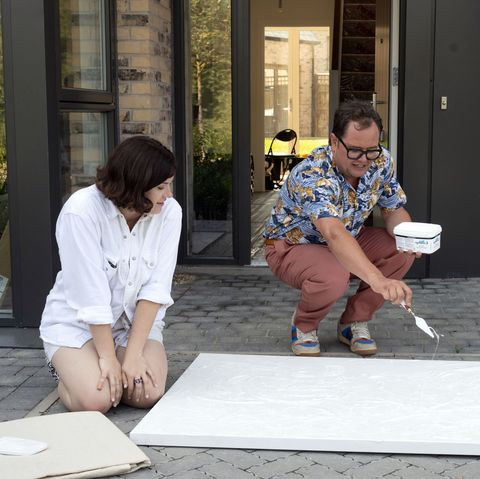 warning embargoed for publication until 000001 on 26012021   programme name interior design masters with alan carr   tx na   episode interior design masters with alan carr   ep1 show homes  no 1   picture shows strictly embargoed not for publication before 0001 hrs on tuesday 26th january 2021 charlotte, alan carr   c banijay   photographer ellis o'brien