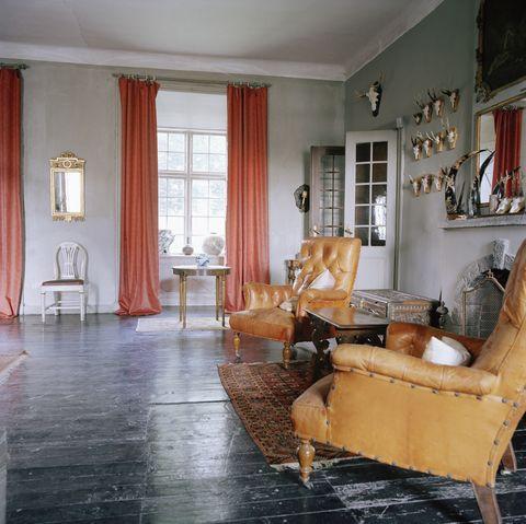 interior in a castle sweden