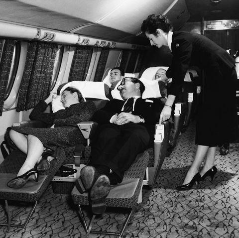 Sleeping In Flight