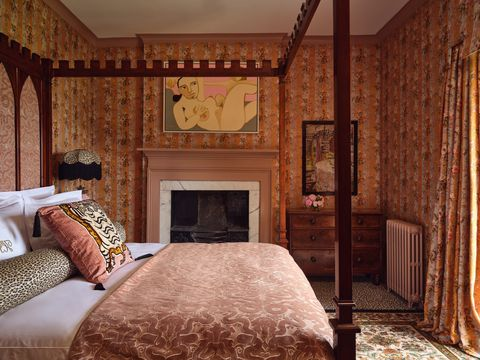 house of hackney rainbow rose room at trematon castle