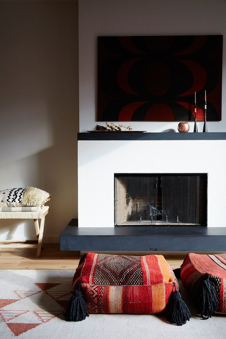 what to hang over fireplace mantle
