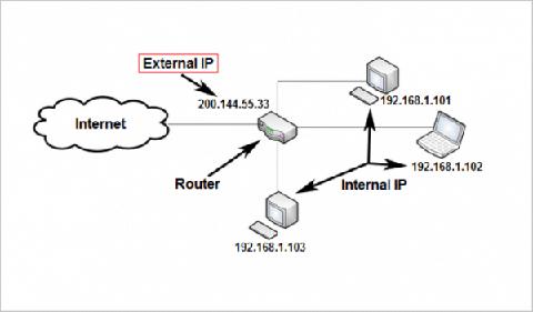 cómo obtener la dirección IP