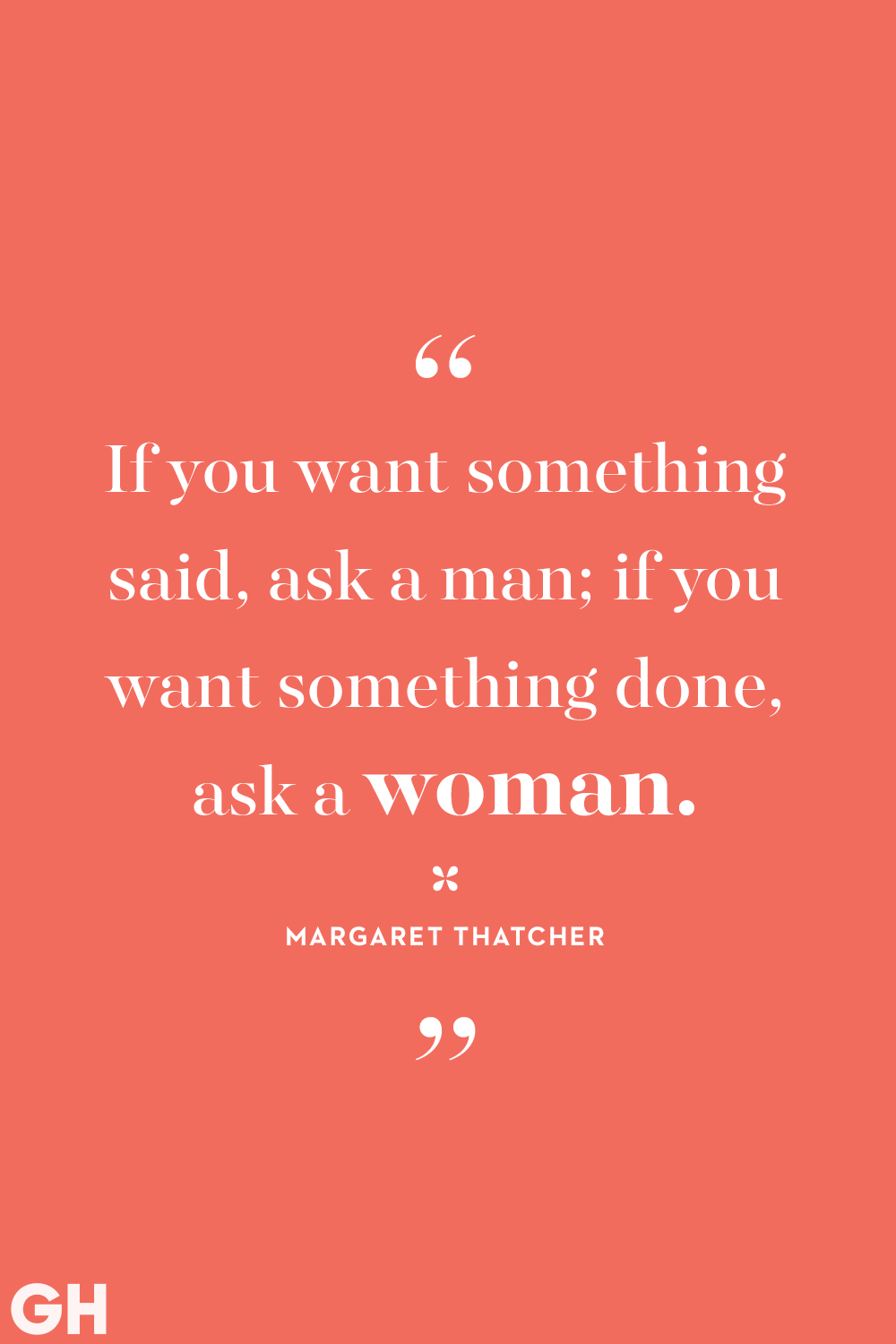 International Women's Day Quotes Margaret Thatcher