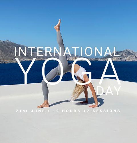 oysho international yoga day