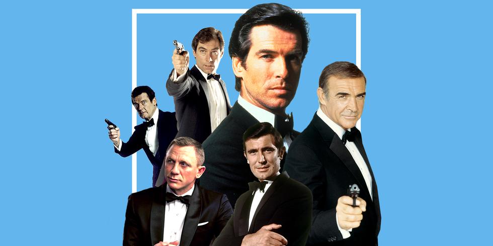Six men have inhabited 007.