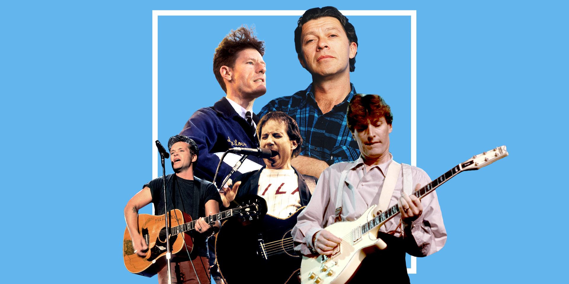 The '80s introduced the world to a new creature, the middle-aged rock star, and with it a whole new style of music.