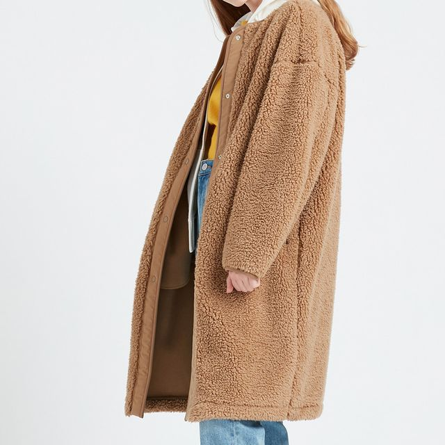 This Incredibly Cozy Uniqlo Fleece Coat Is Cool as Hell (and Currently On Sale)