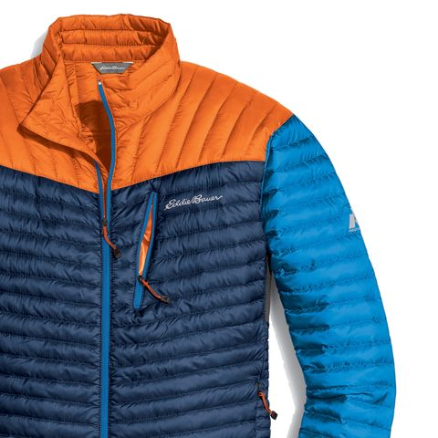 Blue, Product, Sleeve, Jacket, Textile, Orange, Outerwear, Electric blue, Azure, Sweatshirt,