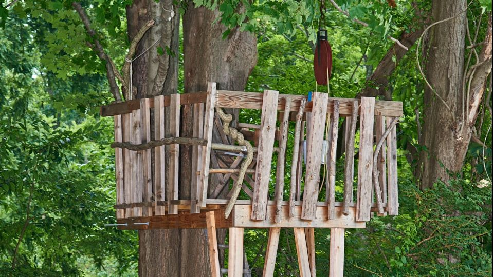 Backyard Treehouse from Scratch | Treehouse Ideas To Make Lasting Childhood Memories In