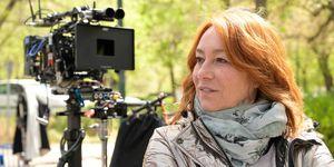 """Gracia Querejeta en el rodaje de """"Invisibles"""""""