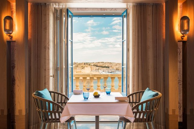view from hotel room in malta