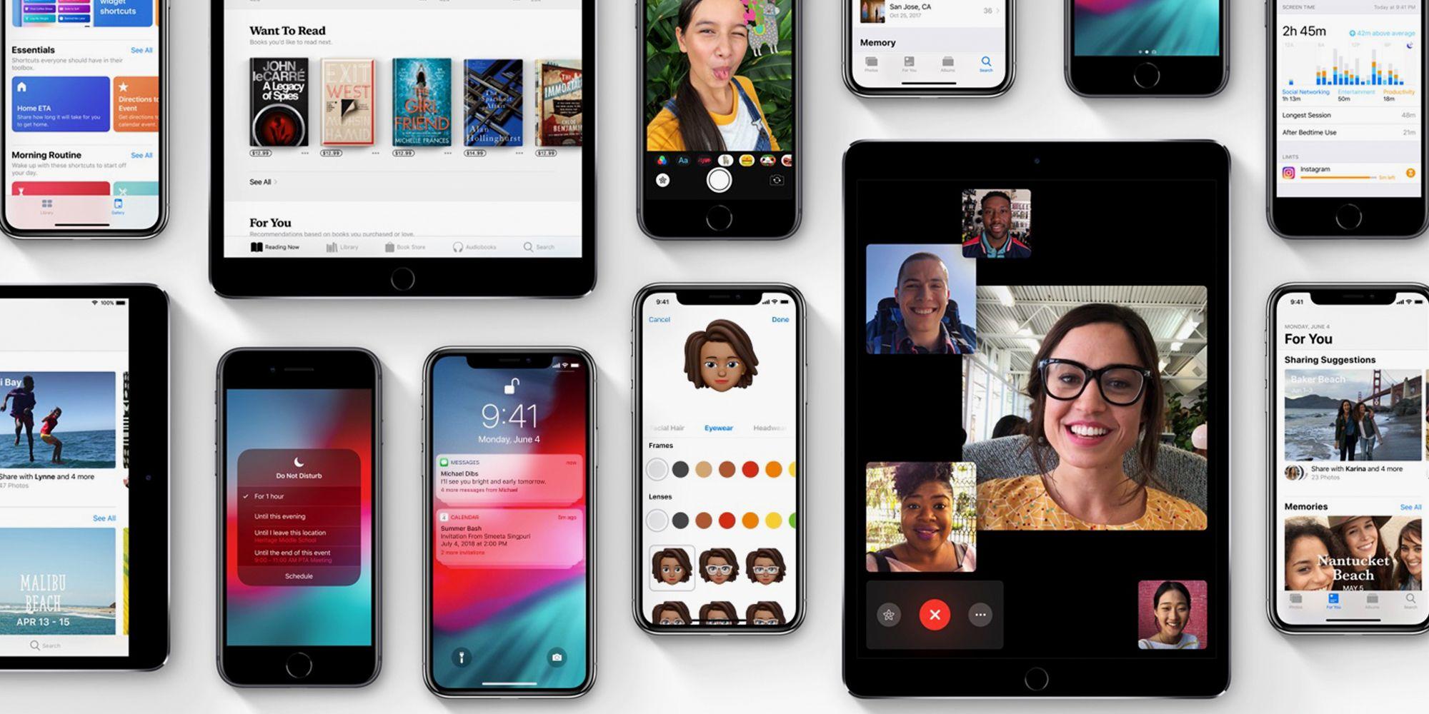 ios 12 apple iphone 2018