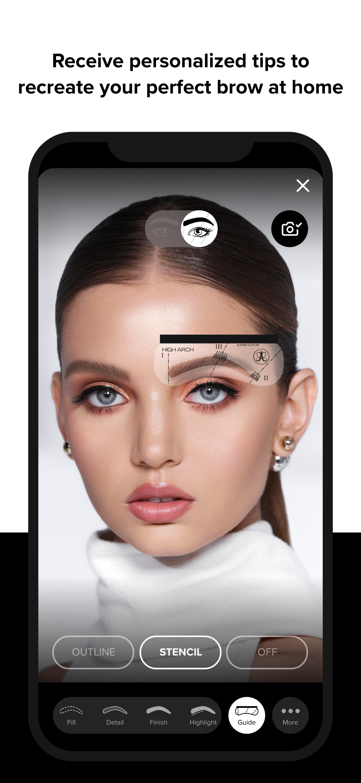 The New Anastasia Beverly Hills App Is Here To Save Your Eyebrows