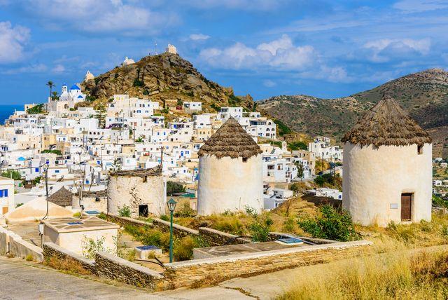 het griekse eiland ios