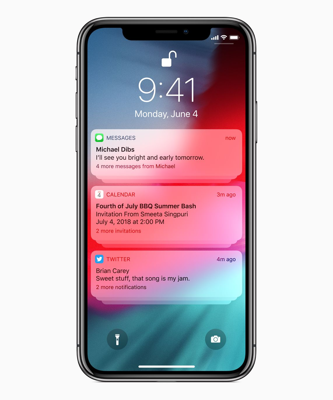 Apple iphone notification settings new update ios12