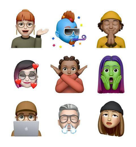 Apple iOS13.4 推出全新 Memoji,超真實「翻白眼」貼圖真的會被用爆!Memoji 製作技巧也幫你整理好囉!