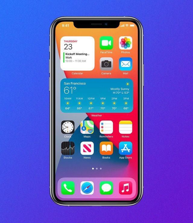 ios 14 iphone favorites widget
