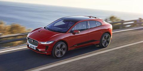 Jaguar iPace electric car