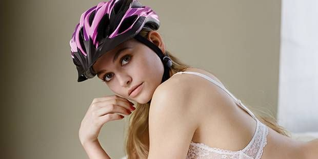 Helmet Ads Called Sexist In German Bike Safety Campaign
