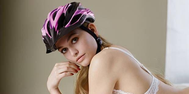 German cyclist ads sexist