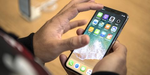 Gadget, Mobile phone, Communication Device, Smartphone, Portable communications device, Electronic device, Iphone, Technology, Hand, Material property,