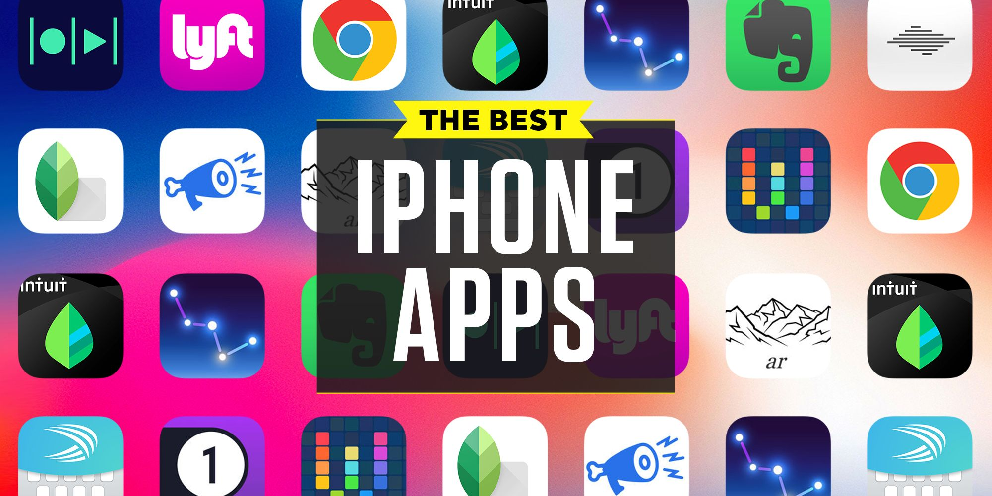 Top ten free apps for iphone