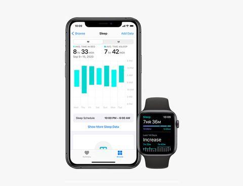 iphone health app sleep