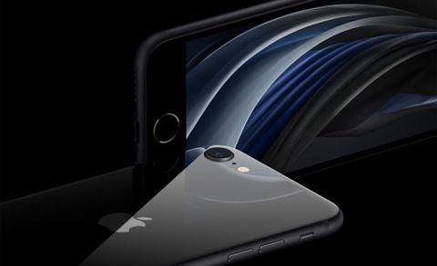 El nuevo modelo de iPhone de Apple, el iPhone SE 2020.