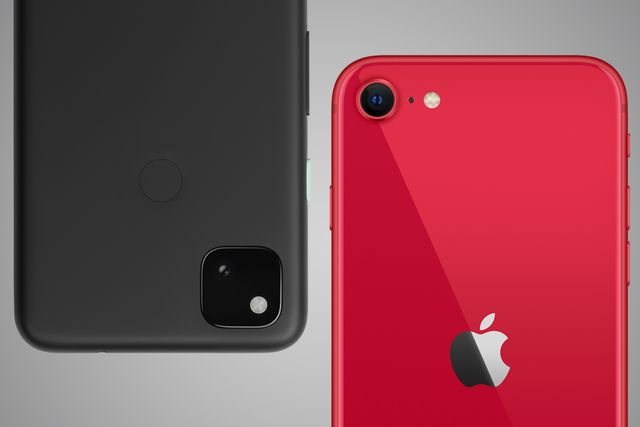 pixel 4a and iphone se