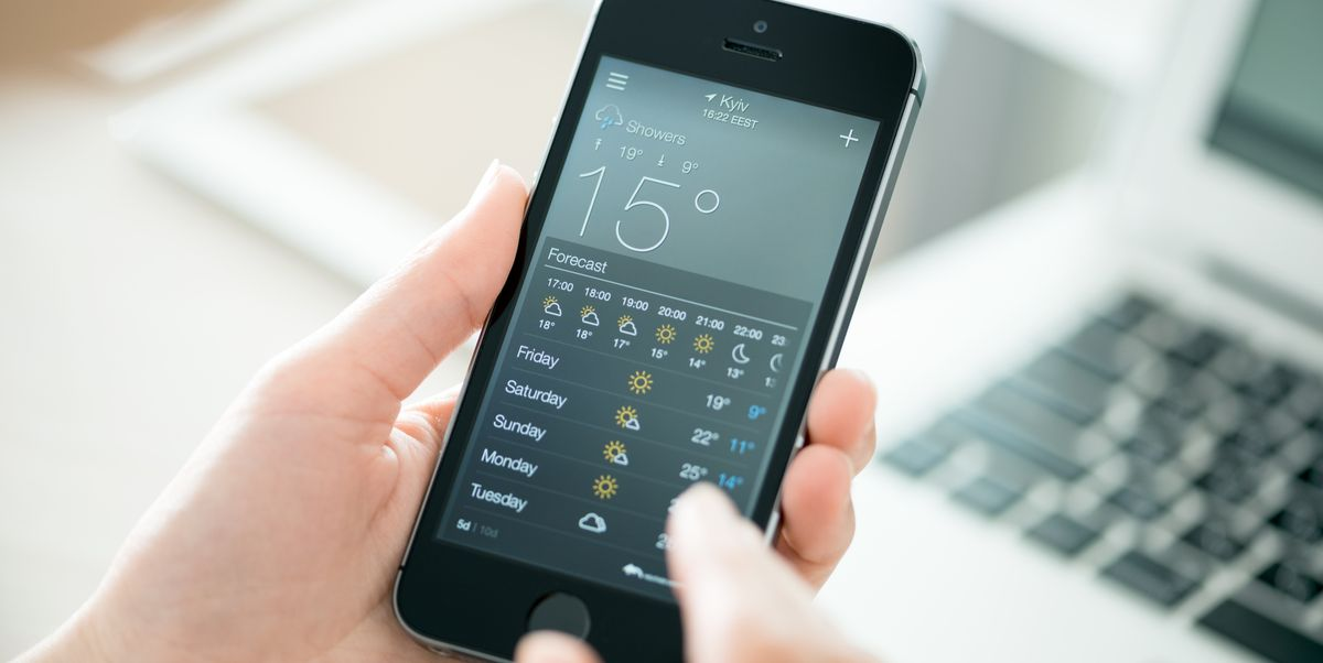 Apple Has Finally Revealed What All The Weather Symbols On Your