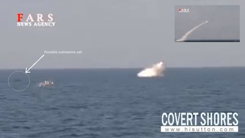 Iran Shows a new Ship-Killing Torpedo Launched From a ...