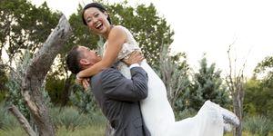 run-themed wedding