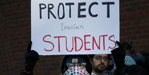 Rally in Support of Iranian Students
