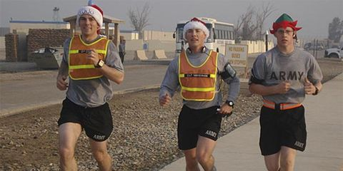 A Holiday Run in Iraq