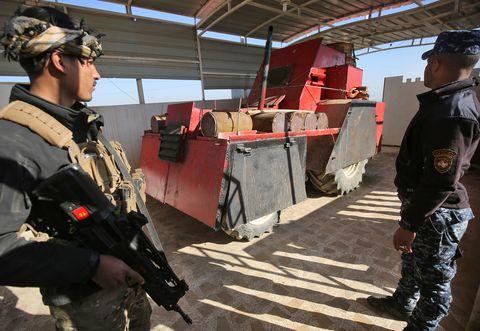 IRAQ-CONFLICT-MOSUL