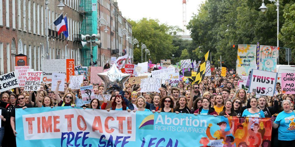 abortion ireland march