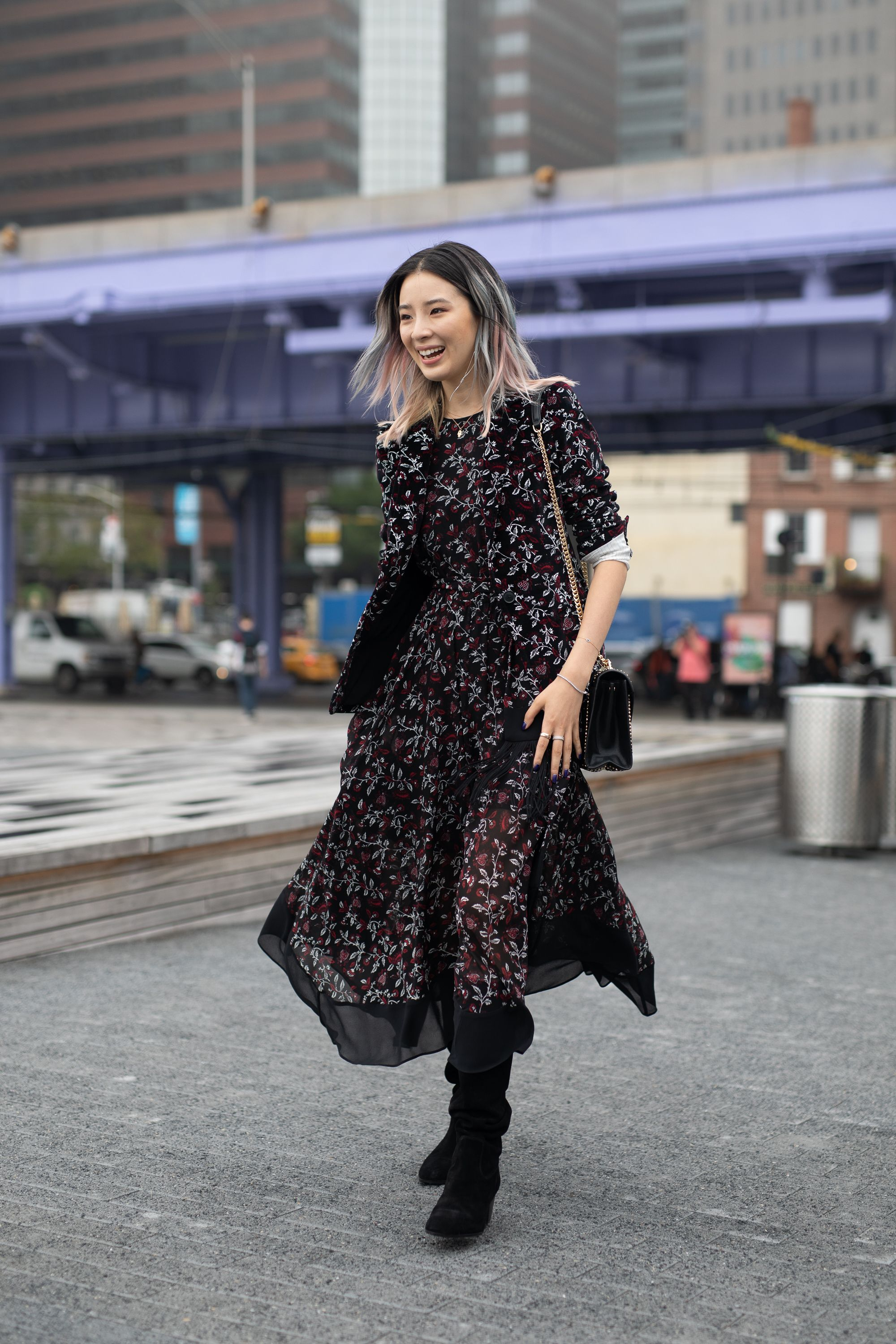 Street Style - New York Fashion Week September 2018 - Day 8