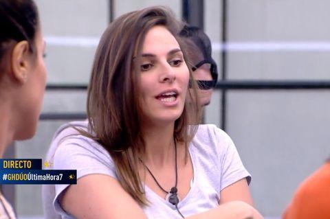 Irene Rosales traiciona a María Jesús Ruiz y se pone detrás de ella en los posicionamientos de cara a la expulsión