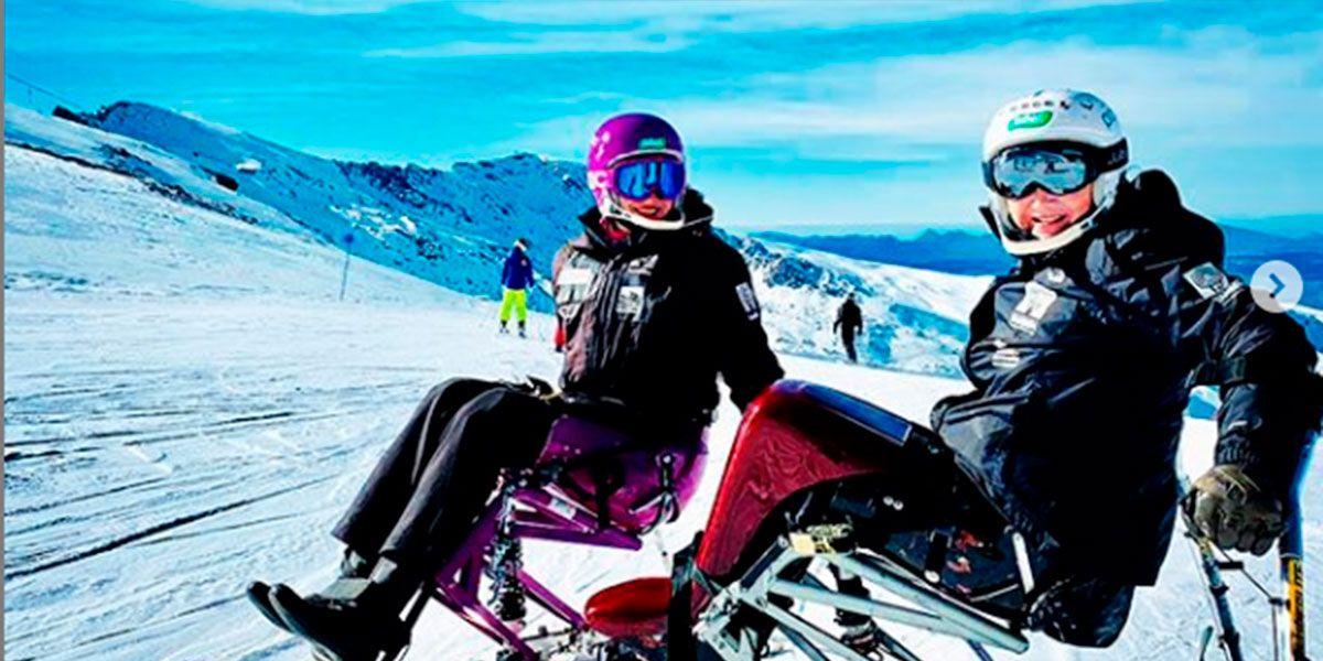 Irene Villa esquí adaptado tras su divorcio