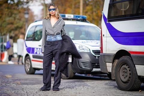 Irina Lakicevic Street Style Margiela Pants